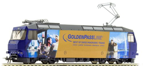 "Bemo 1359334 MOB Ge 4/4 8004 ""GoldenPassLine"" digital"