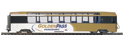"Bemo 3588312 MOB Bs 252 Panoramawagen ""GoldenPass Panoramic"" 3L-WS"