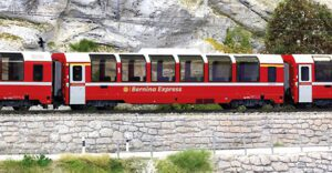 Bemo 3594142 RhB Bernina Express Bp 2502   H0 3L-WS