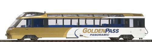 "Bemo 3688313 MOB Arst 151 ""GoldenPass Panoramic"" Steuerwagen 2L-GS"