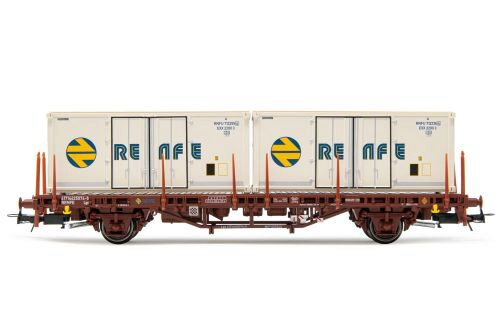 Electrotren HE6031 RENFE 2-achs Containerwg. 2 x 20  Kühlcontainer