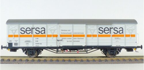 Exact Train 20417 Sersa Materialwagen