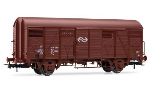 Rivarossi HR6416 NS, 2-axle Gs wagon, brown with NS logo