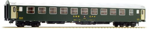 L.S. Models 47321 SBB Bcm altes Logo 12 Abteile Tagespositon Ep III