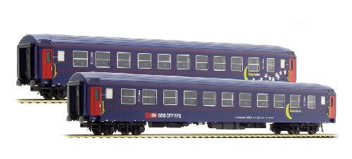 L.S. Models 47331 SBB 2er Set UIC-X Bcm M&S Tagesposition  Ep IV-V