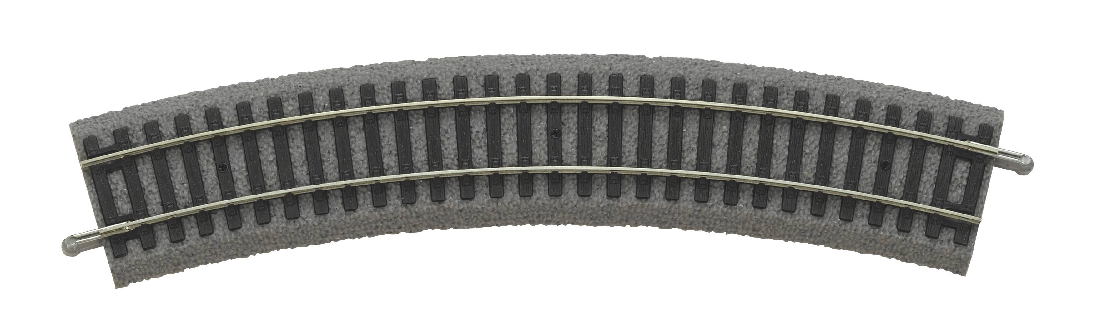 Piko PIKO A-Gleis mit Bettung Bogen R2 422 VE6 55412