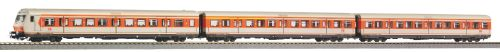 Piko 58227 3er Set S-Bahn Wagen orange-grau DB AG V, AC