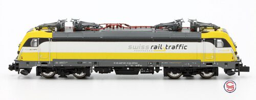 Arnold HN2341 Swiss Rail Traffic TRAXX Rem 487 001