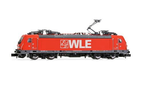 Arnold HN2437D WLE, BR 187, red, with DCC decoder