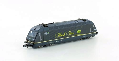 Hobbytrain 137121 BLS E-Lok Re 465 Flash Fire
