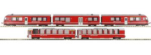 Kato 7074028 RhB Bernina Express 3502, 5-teilig, DIGITAL