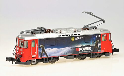 "MDS Modell 60008 N-RhB-Elok Ge4/4II 615 ""Klosters"", ""RE-Power - Winter"""