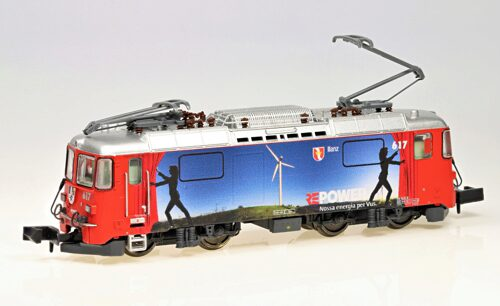 "MDS Modell 60009 N-RhB-Elok Ge4/4II 617 ""Ilanz"", ""RE-Power - Sommer"""