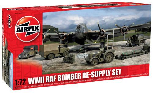 Airfix A05330 WWII Bomber Re-Supply Set