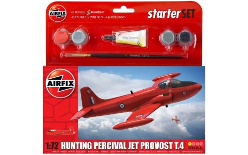 Airfix A55116 Small Starter Set-Hunting Percival Jet Provost T3