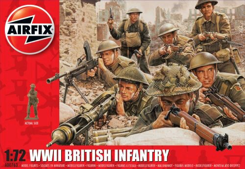 Airfix A00763 WWII British Infantry N.Europe