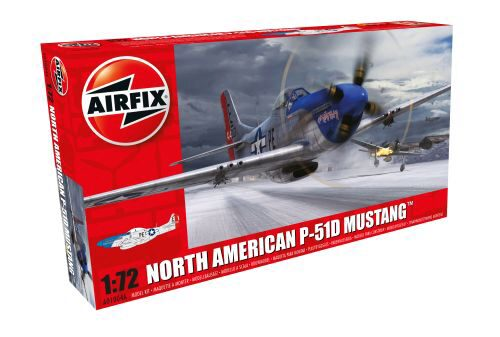 Airfix A01004A North American P-51D Mustang