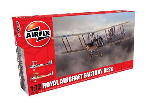 Airfix A02104 Royal Aircraft Factory BE2c Scout