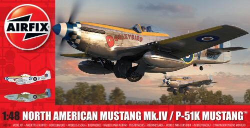 Airfix A05137 North American Mustang Mk.IV