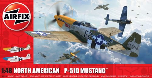 Airfix A05138 North American P51-D Mustang(Filletless Tails)