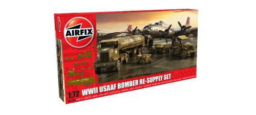 Airfix A06304 USAAF 8TH Airforce Bomber Resupply Set