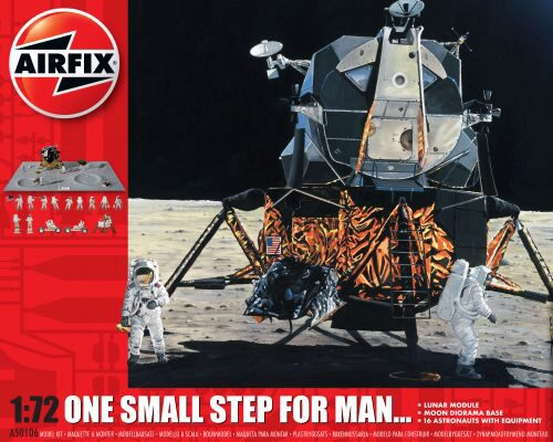 Airfix A50106 One Step for Man 50th Anniversary of 1st Manned Moon Landing