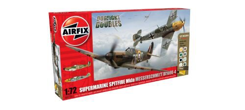 Airfix A50135 Dogfight Double Spitfire 1A/BF 109E