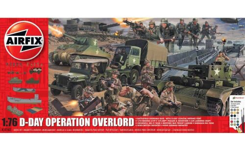 Airfix A50162A D-Day 75th Anniversary Operation Overlor Gift Set