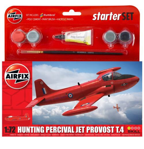 Airfix A55116A Small Starter Set - Hunting Percival Jet Provost T.4