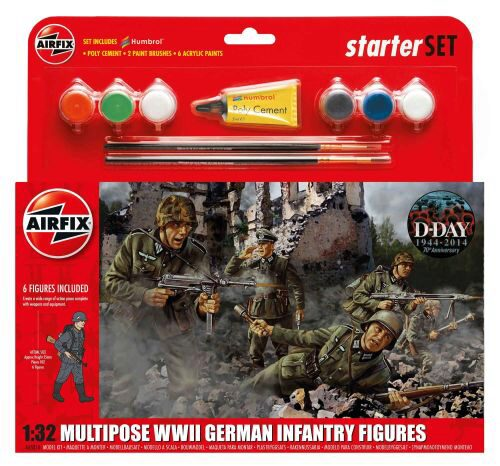 Airfix A55210 German Infantry Multi-Pose