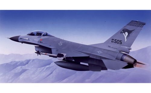 Airfix A55312 Large Starter Set-General Dynamics F-16A /B Fighting Falcon