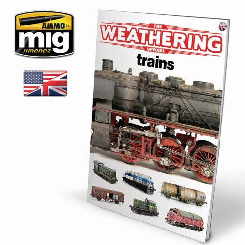 Ammo AMIG6142 THE WEATHERING SPECIAL - TRAINS ENGLISH