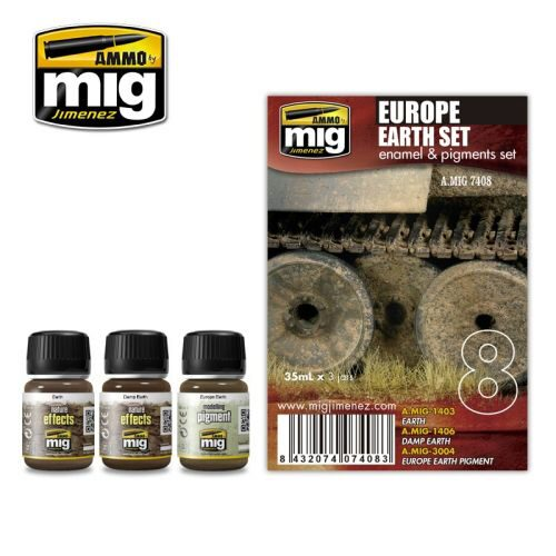 Ammo AMIG7408 EUROPE EARTH SET
