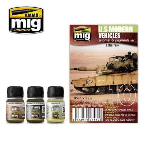Ammo AMIG7410 US MODERN VEHICLES SET
