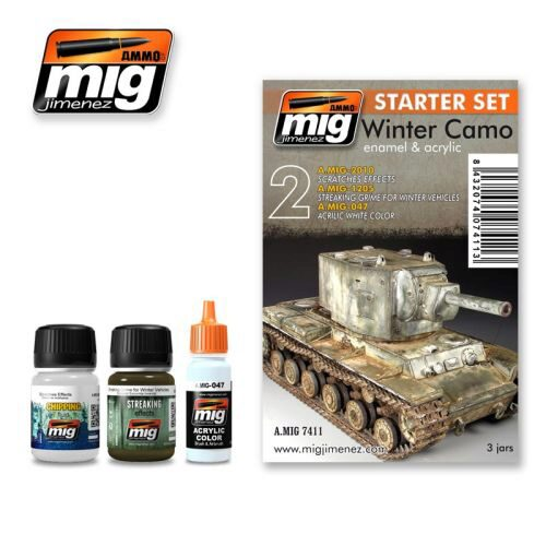 Ammo AMIG7411 WINTER CAMO SET
