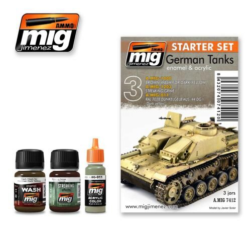 Ammo AMIG7412 GERMAN TANKS SET