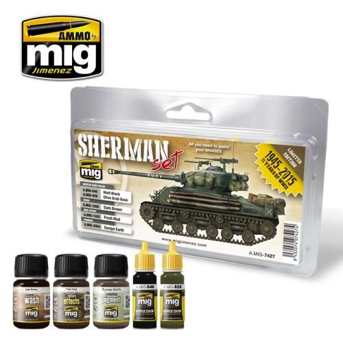 Ammo AMIG7427 FURY SHERMAN SET