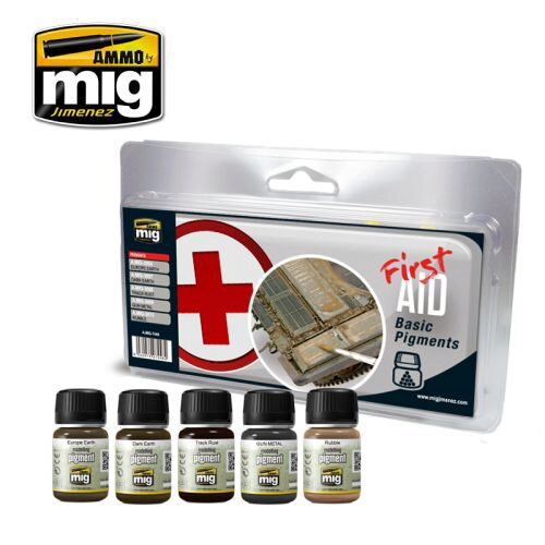 Ammo AMIG7448 FIRST AID BASIC PIGMENTS