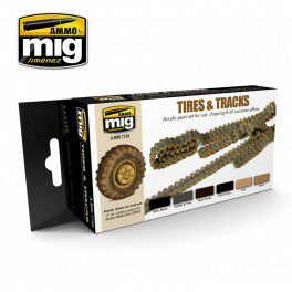 Ammo AMIG7105 TIRES AND TRACKS