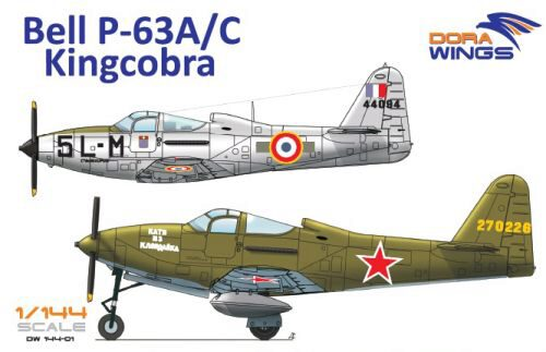 Dora Wings 14401 Bell P-63A/C Kingcobra (2 in 1)