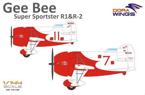 Dora Wings 14402 Gee Bee Super Sportster R1&R-2 (2 in 1)