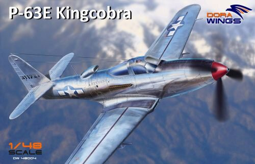 Dora Wings 48004 Bell P-63E-1-BE Kingcobra