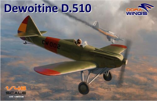 Dora Wings 48008 Dewoitine D.510 Spanish civil war (+bonus Japan, NIJ)