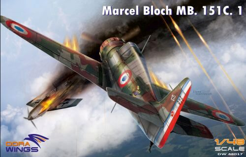 Dora Wings 48017 Bloch MB.151C.1