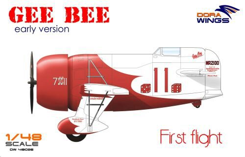 Dora Wings 48026 Gee Bee Super Sportster R-1 (early version)