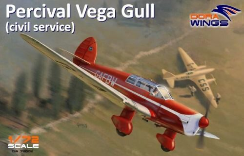 Dora Wings 72002 Percival Vega Gull (civil registration)