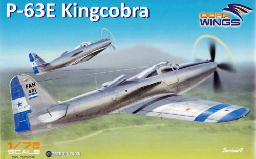 Dora Wings 72005 Bell P-63E-1-BE Kingcobra