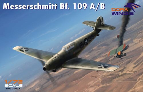 Dora Wings 72011 Messershmitt Bf.109 A/B  Legion Condor
