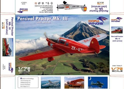 Dora Wings 72017 Percival Proctor Mk.III (civil registration)