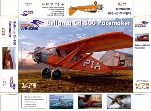 Dora Wings 72022 Bellanca CH-300 Pacemaker